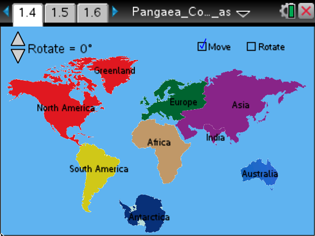 Pangaea Fossil Puzzle Earth Science TI Science Nspired – Pangea Worksheet