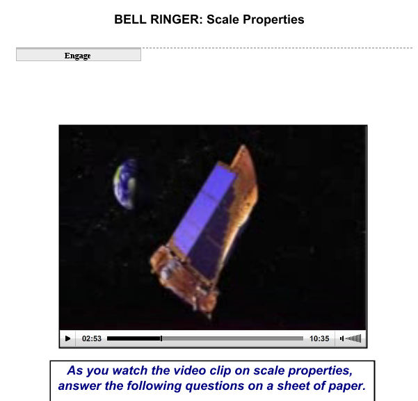 Scale Properties SS