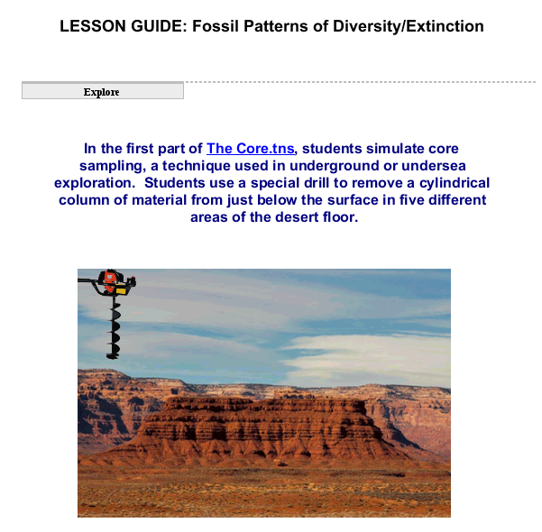 Fossil Patterns of Diversity_Extinction SS