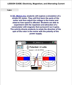 18205lesson_guide_electricity_magnetism_and_alternating_current